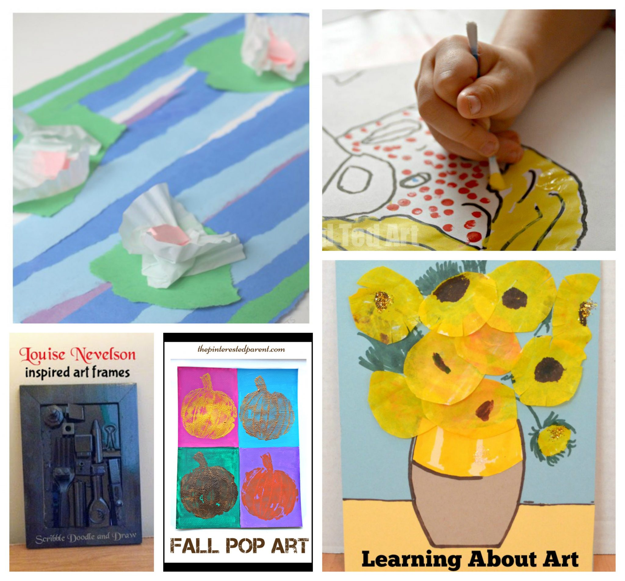 Art And Craft For Preschool 30 Artist Inspired Art Projects For Kids The Pinterested Parent